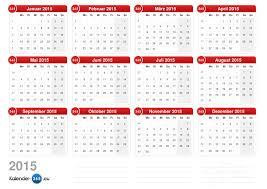 Kalender 2015 Excel Excel Jahreskalender 2015