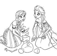 Coloriage Princesse Imprimer Disney Reine Des Neiges Avec