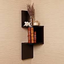 Unfinished Corner Shelves Decorating Unfinished Diy Wood Floating Corner Wall Shelf And 48