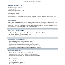 Brilliant Ideas Of Sample Resume For Fresh Graduate Epic Sample