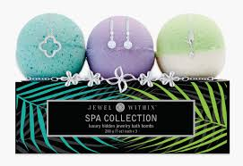 spa jewelry bubble bath s