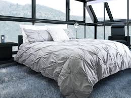 pintuck duvet cover bedroom grey brilliant organic cotton shams feather gray west elm throughout 0 white pintuck duvet cover