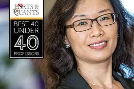 Poets&Quants   2017 Best 40 Under 40 Professors: Ting Li, Rotterdam School  of Management