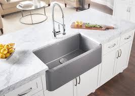 BLANCO IKON 33 Apron Front Sink Blanco Cinder L52