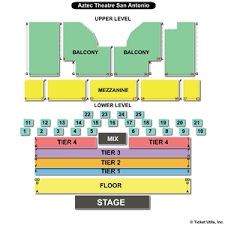 Aztec Theatre Seating Chart San Antonio Aztec Theater San Antonio Seating Chart Wajihome Co