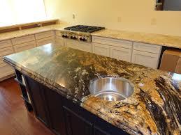 Colonial Cream Granite Kitchen Kitchen Brilliant Kitchen Granite Ideas Kitchen Granite Radon