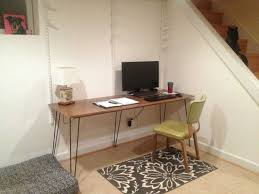 6 foot desk. This Weekend I Finished Building A 6-foot Modern Hairpin Leg Desk For My Office, And Have Some\u2026 6 Foot