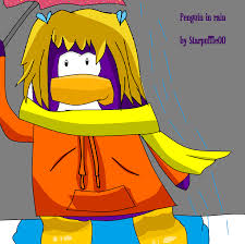 Image Penguin In Rain Club Penguin Picture xxx.png Club.