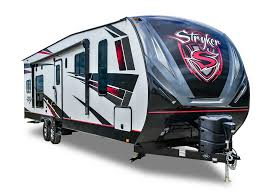 cruiser stryker toy hauler rv