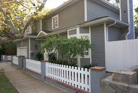 Picket Fence Los Angeles Pacific Palisades Wood Fence Harwell