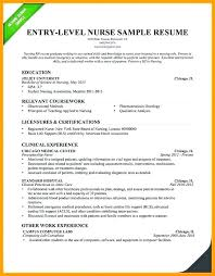 New Nurse Resume New Nurse Resume Tips – Ringfinger.co
