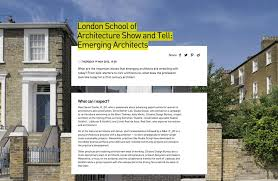 Emerging Architects At The Design Museum If_Do  Architecture Inside What  To Look For In An