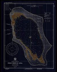 Us Navy Nautical Charts Amazon Com Vintography Noaa Blueprint Style 18 X 24