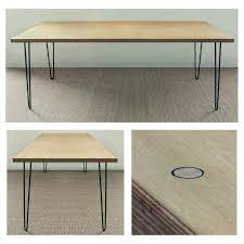 It'l look great and be and strong as ever. Pin By Daniel Romero On Table And Desk Furniture Design Plywood Table Furniture Design Modern