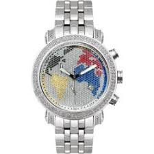 joe rodeo watches overstock com the best prices on designer mens joe rodeo men s world map diamond watch