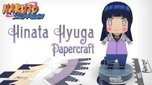 Naruto: Shippuden - Hinata Hyuga Papercraft
