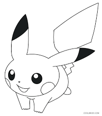 Pikachu Coloring Sheet Coloring Pages For Kids Pokemon Pikachu