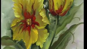 the beauty of oil painting series 1 episode 18 painters tulips you