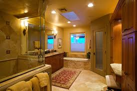traditional master bathroom designs. Traditional Master Bathroom Remodel With Roll In Accessible Steam Shower Access, Jacuzzi Jetted Bath Tub Designs
