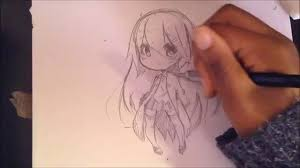 anime chibi drawing tutorial. Simple Drawing Intended Anime Chibi Drawing Tutorial M