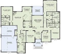 Full InLaw Suite On Main Floor  21765DR  Architectural Designs Houses With Inlaw Suites