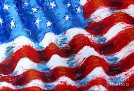 american flag painting american flag by venus
