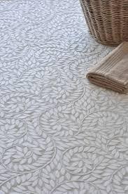 white bathroom floor tiles. White Etched Tile Bathroom Floor Tiles