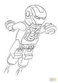 Disegno Di Lego Iron Man Da Colorare Disegni Da Colorare E Con