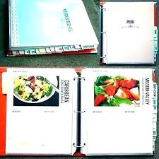 recipe book formats diy recipe book template