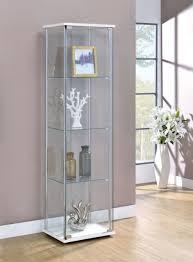 ikea detolf glass curio display cabinet