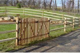 split rail wood fence gate. Wood Split Rail Fence With Gate