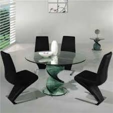 modern glass furniture. Glass Dining Sets Modern Furniture T