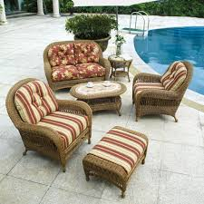 Warmth Outdoor Wicker Furniture Cushions — Bistrodre Porch and