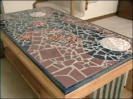 how to make a mosaic tile table design