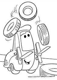 Cars Movie Coloring Pages At Getdrawingscom Free For Personal Use
