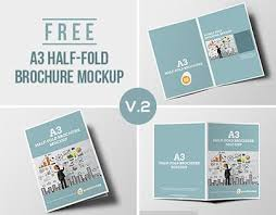 Free Two Fold Brochure Template Pin By Graphics Egg On Mockup Mockup Brochure Design Brochure