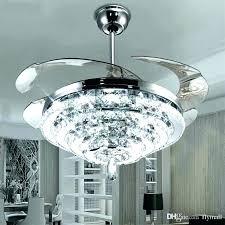 candelabra ceiling light white chandelier fan crystal led