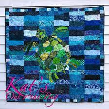 Sea Turtle Quilt Sea turtle Blanket Custom Turtle Quilt & Like this item? Adamdwight.com