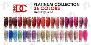 Dnd Gel Color Chart Dnd Dc Platinum Gel 6 Oz Complete Set 36 Colors 181 217 Get Free 1 Sample Tip Set