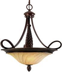 golden lighting 8106 3p cdb torbellino cordoban bronze hanging light fixture loading zoom