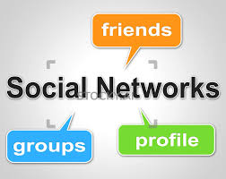 Network Design Online Forum Image Of Social Network Words Means Web Forums And Blogging