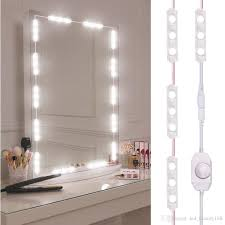 Where To Get A Vanity Mirror With Lights 2019 Viugreum Makeup Mirror Lights Dimmable 60leds Led Vanity Light Kits 10ft 1200lm Daylight White 6000k Waterproof Diy Module Lights With Switc From