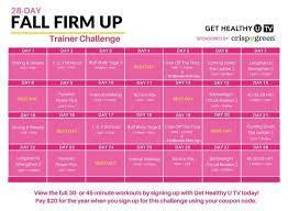 28 day workout calendar hiit workout