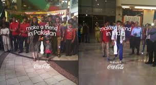 Vending Machines In Pakistan Classy Coke 'Small World' Vending Machines Bring Indians And Pakistanis