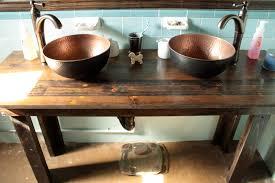 Homemade Bathroom Vanity Diy Bathroom Vanity With Vessel Sink Wwwislandbjjus