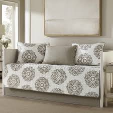 day bed cover. Modren Cover Daybed Cover Set Is 100percent Cotton Inlcudes Daybed Cover 3 Standard  Shams And Coordinating Bedskirt On Day Bed Cover