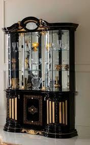 betty 3 door vertine black gold display
