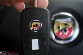 fiat abarth logo. but this one has the abarth logo at back fiat