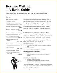How To Write An Australian Resume Standard Free Printable Templates