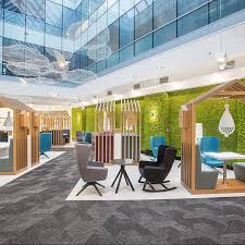 office workspace design. 100% Design 2017: A Showcase Of Workplace Creativity Office Workspace Y